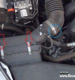 unclamp the air box on subaru legacy 2009  [ 1635 x 956 Pixel ]