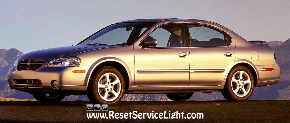 2000 Nissan Maxima Headlight