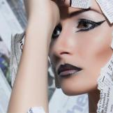 Dubai Makeup Artist Reshu Malhotra/Dubai Beauty Blogger Fashion Makeup /Creative