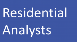 Residential Analysts