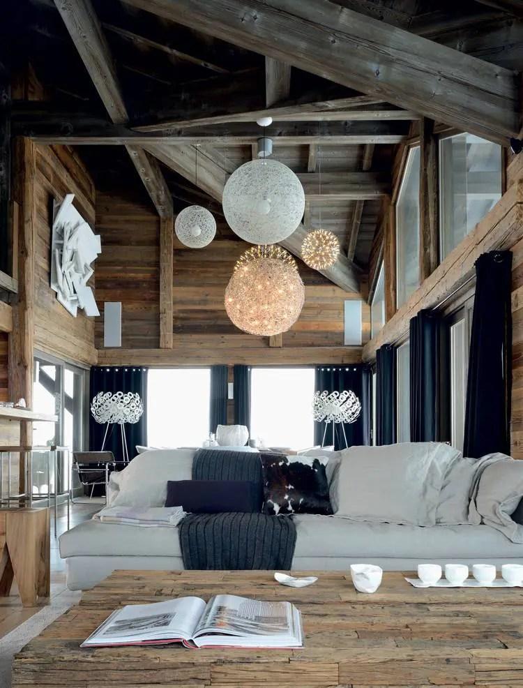 Un chalet familial sur 5 niveaux en Savoie  Ides Dco Meubles et Intrieurs Design
