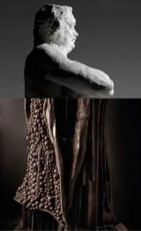 CREDIT_Auguste-Rodin-Balzac,-etude-de-nu---S177-platre-et-Detail-sculpture-Balzac-en-chocolat-Patrick-Roger