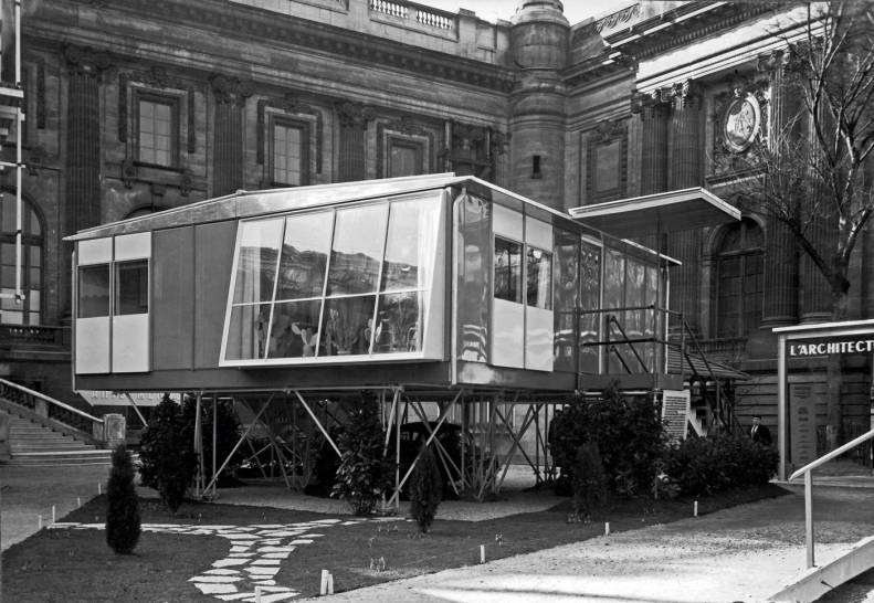 65-Maison-standard.-Paris,-exposition-de-l'habitation-du-salon-des-Arts-ménagers,-1950