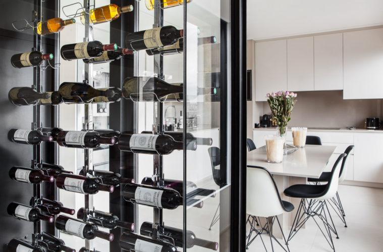 La cave  vin de verre  Ides Dco Meubles et Intrieurs Design Residences Decoration Magazine