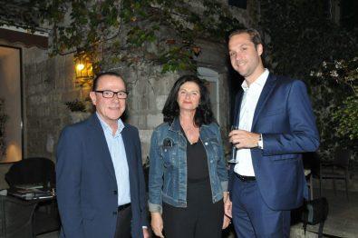 Jean-Marc Roubaud Maire de Villeneuve-les-Avignon et Président du Grand Avignon Ody Madec Jérôme Gruget