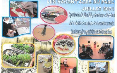 Les Racont'âges du Parc – Juillet 2021