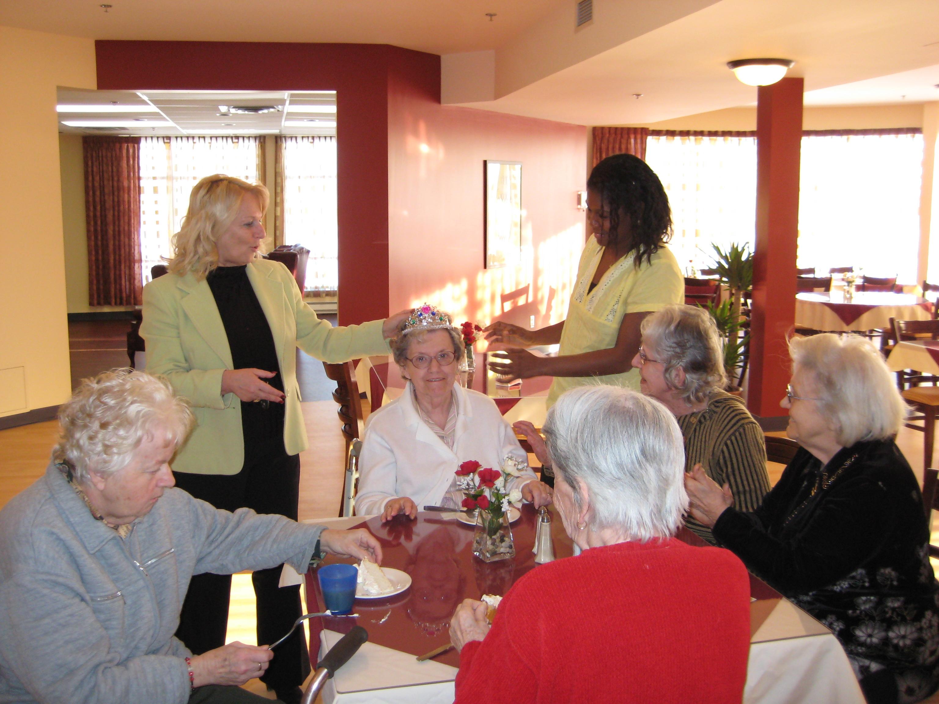 centre pour personnes agees