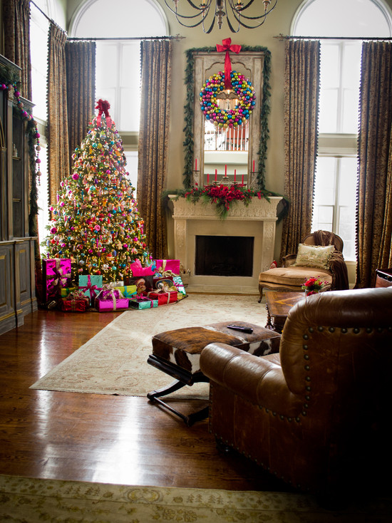 Christmas Living Room Decorations Ideas Amp Pictures