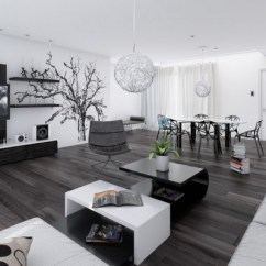Living Room Pictures Black And White Small Two Loveseats Interior Design Ideas