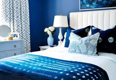 Navy Blue Bedding For Girls