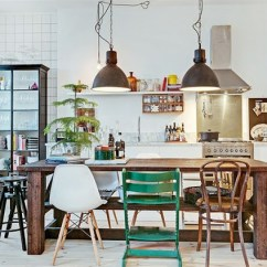 Retro Kitchen Table And Chairs Set Floor Ideas 20+ Mix Match Dining Design