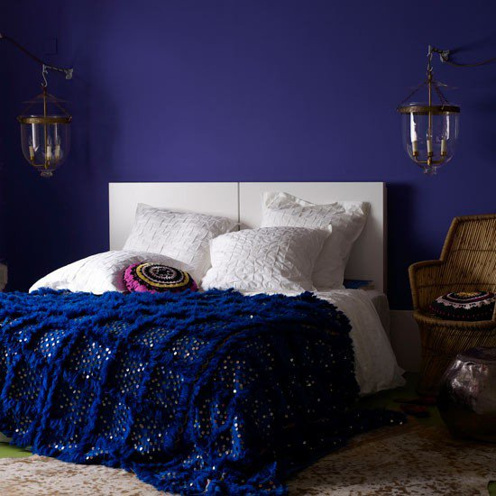 blue interior bedroom designs Navy & Dark Blue Bedroom Design Ideas & Pictures