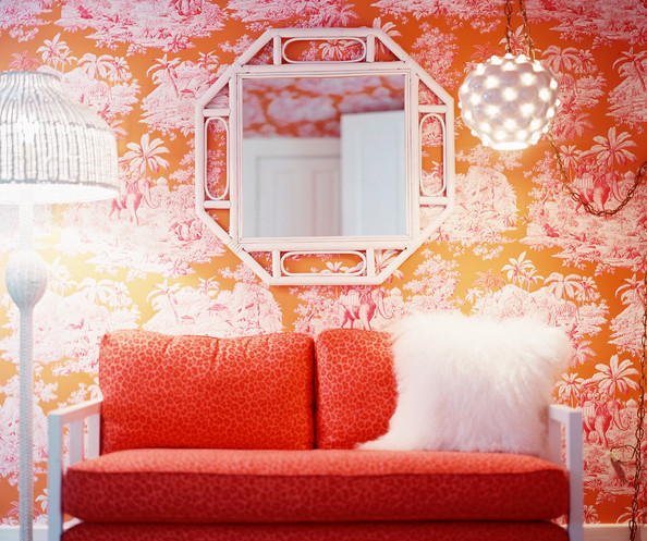 Pink And Orange Living Room Design Ideas Amp Pictures