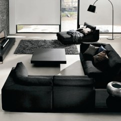Black And White Living Rooms Beige Armchair Room Interior Design Ideas