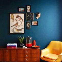 Blue Walls Living Room Sets Raymour Flanigan 15 Beautiful Dark Wall Design Ideas