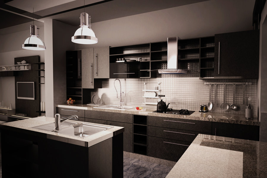 real wood kitchen cabinets costco best off white color for 12 playful dark designs ideas & pictures