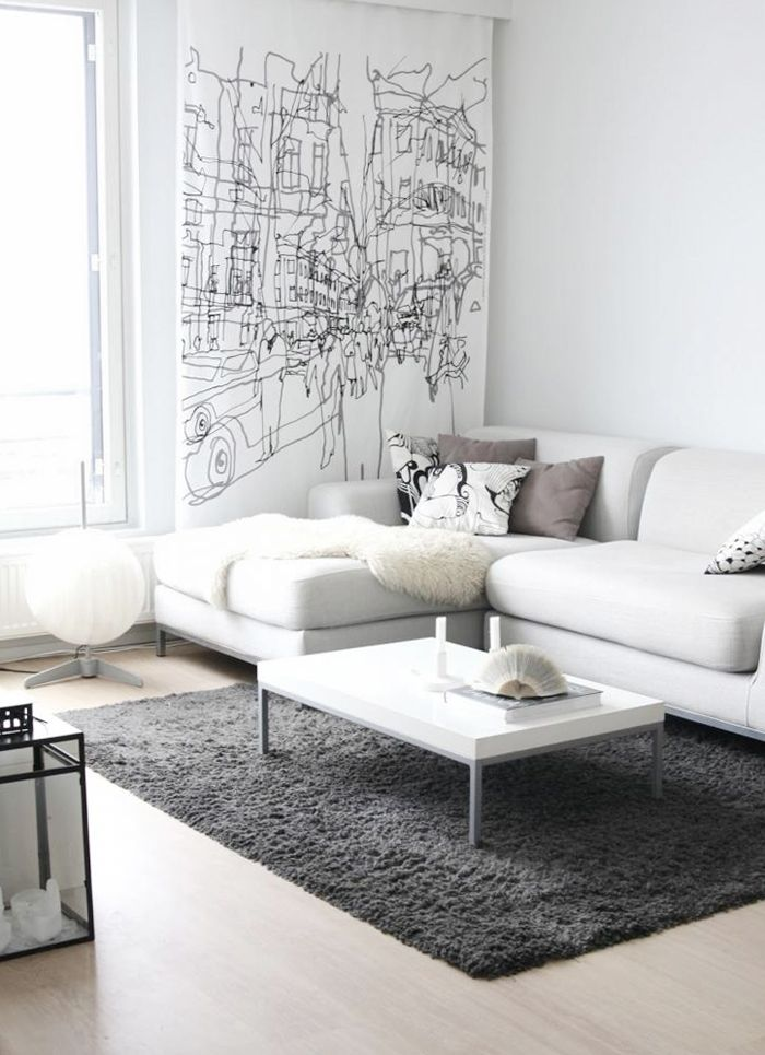 pictures of white living rooms blue grey paint colors for room sofa design ideas and