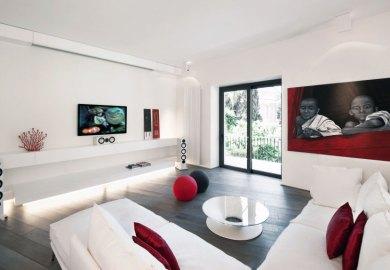 Decorating Ideas Living Room White Sofa