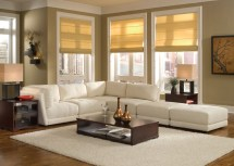 White Sofa Design Ideas & Living Room