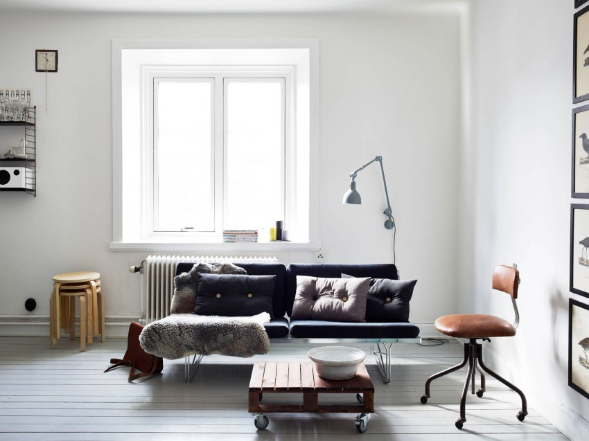 beautiful small apartment living rooms beach cottage room furniture located in stockholm sweden