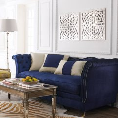 Dark Blue Sofa Table Bed Under 200 21 Different Style To Decorate Home With Velvet