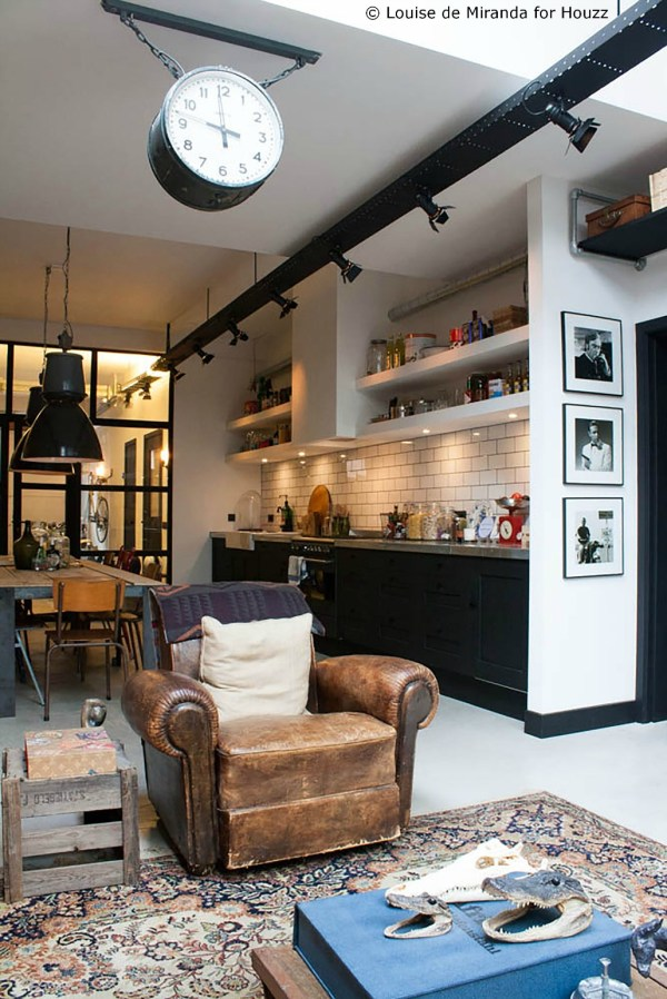 Industrial Loft Interior Design