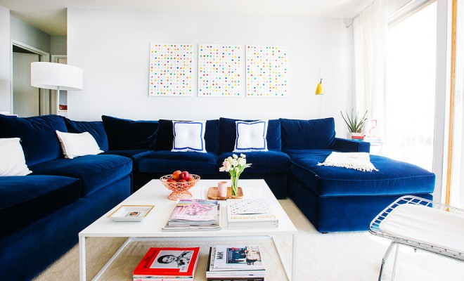 color sofa king sofas 21 different style to decorate home with blue velvet