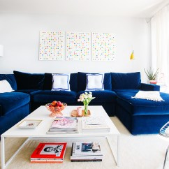 Blue Living Room Furniture Decorating Ideas Best Color 2016 21 Different Style To Decorate Home With Velvet Sofa