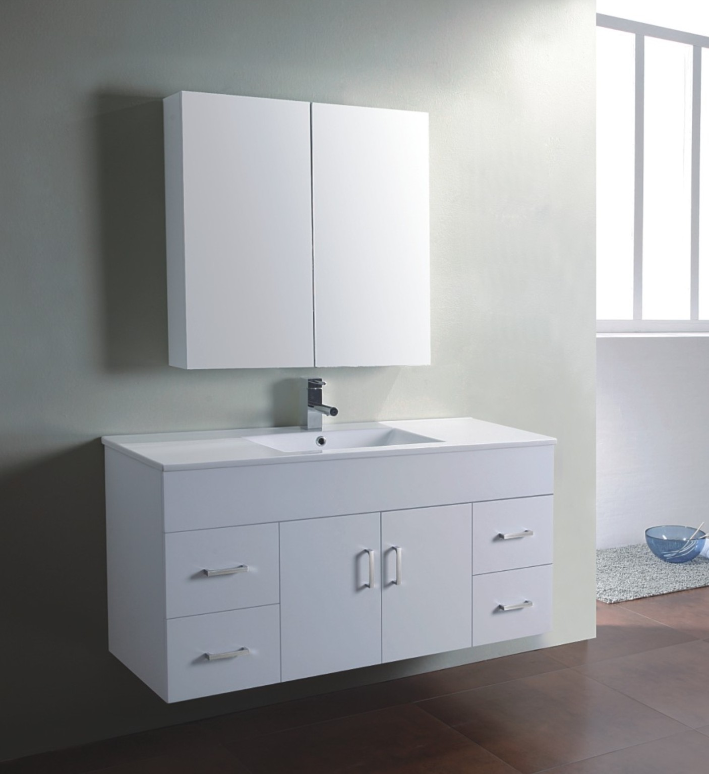 Changing the Bathroom Cabinets for a Completely New Look