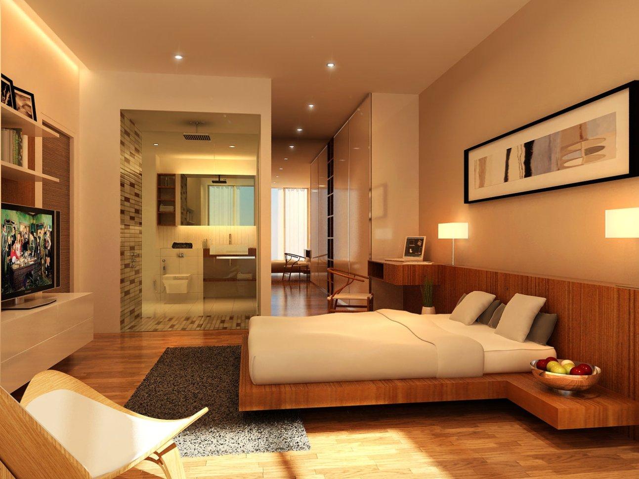Best Kitchen Gallery: Interior Bedroom Design Charming Brown Wood Bed Frame On Bined of Interior Design Bedroom  on rachelxblog.com