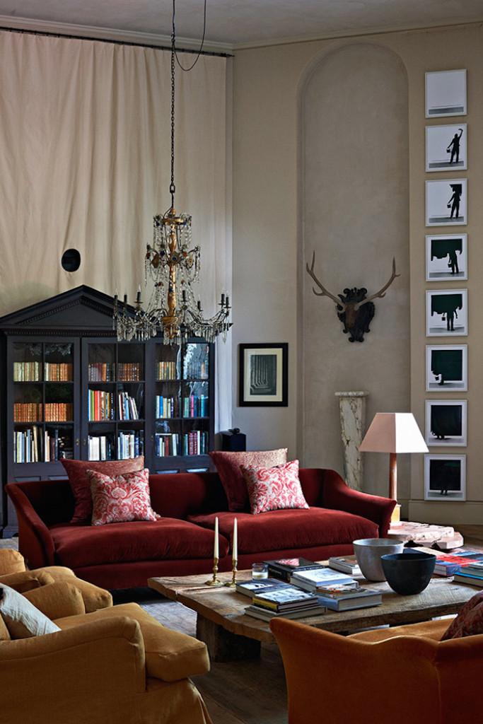 Classic  Minimalist Interior Design Home Of Rose Uniacke