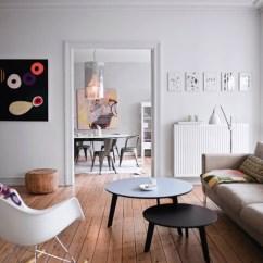 Wooden Floors In Living Rooms Sofa Set Furniture For Room A White Interior Design With Flooring Scandinavian Floor