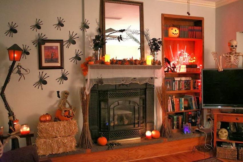 Living Room Design Halloween Home Design Ideas