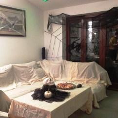 Decorative Living Room Ideas Decorate Large Wall 21 Stylish Halloween Decorations
