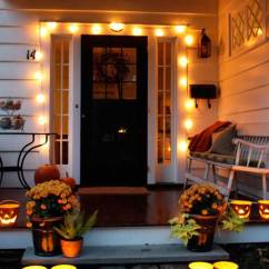 Hanging Upside Down Chair For Back Chairs With Wheels Cute Halloween Front Porch Decorations To Greet Your Guests
