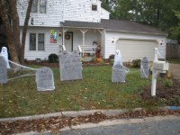 halloween outdoor decorations | My Web Value