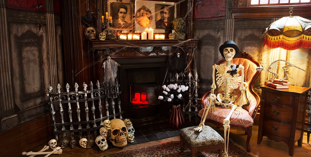 Home Decorating Trends Homedit Home Halloween House Decorating