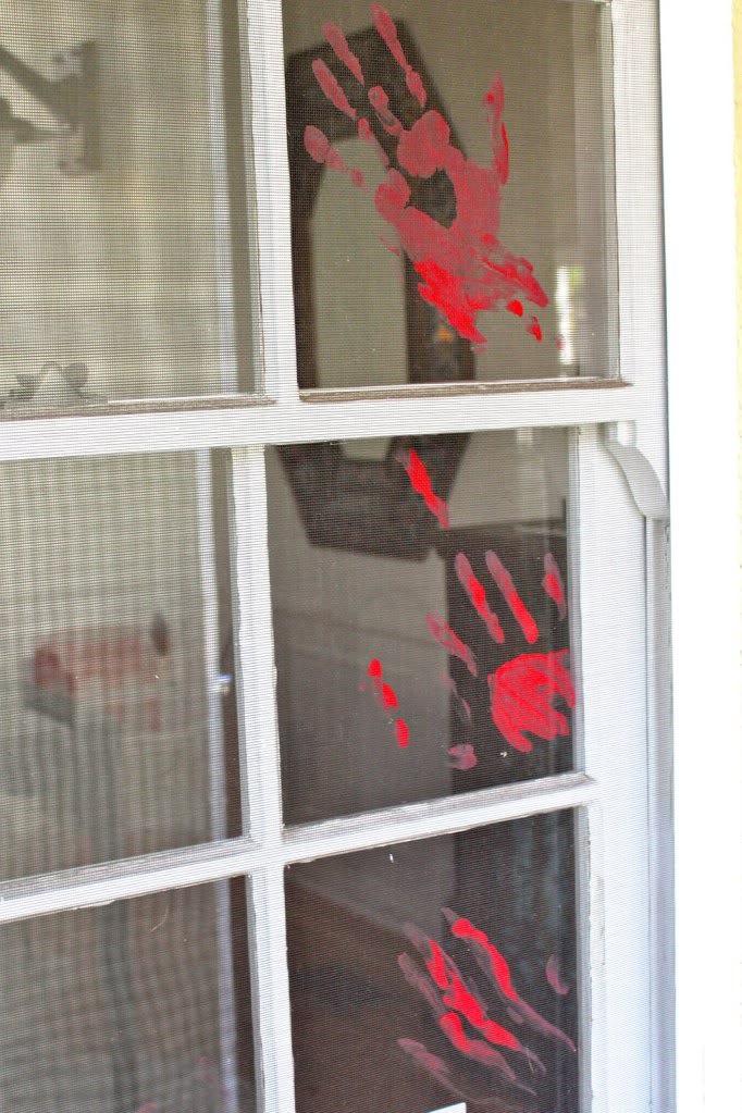 cheap ghost chair high splat mat halloween window decorations ideas to spook up your neighbors
