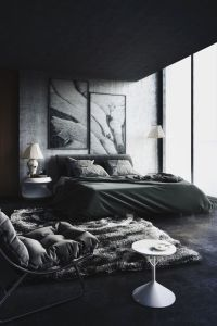 Back To Black: Decorating With Dark Color Schemes