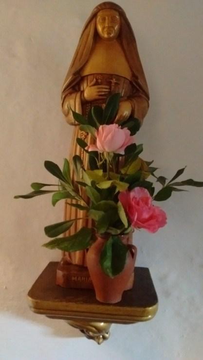 Imatge de fusta de la Mare Ràfols