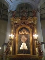 Altar principal de la Mare de Déu del Pilar