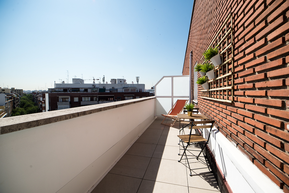 terraza santamaca residencia