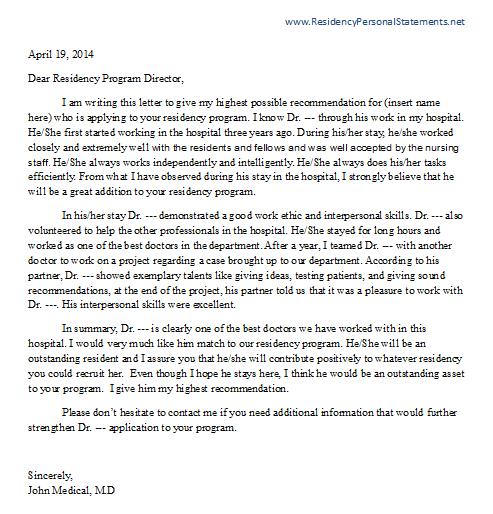 medical termination letter
