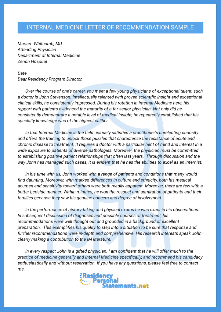 sample letter of recommendation for gifted program