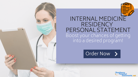 Internal Medicine Residency Personal Statement Writing Service