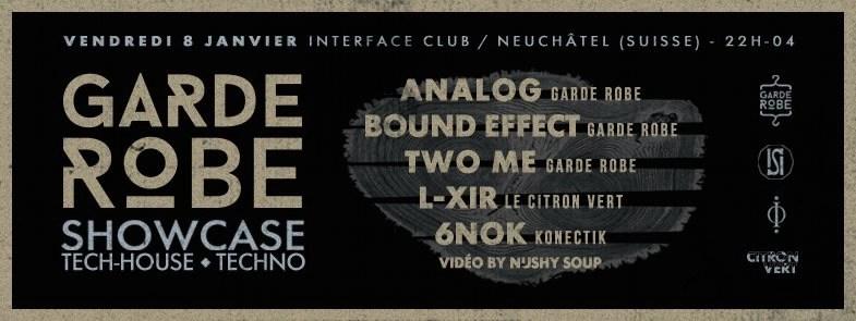 RA Garde Robe Showcase at Interface Club  Neuchtel Switzerland 2016