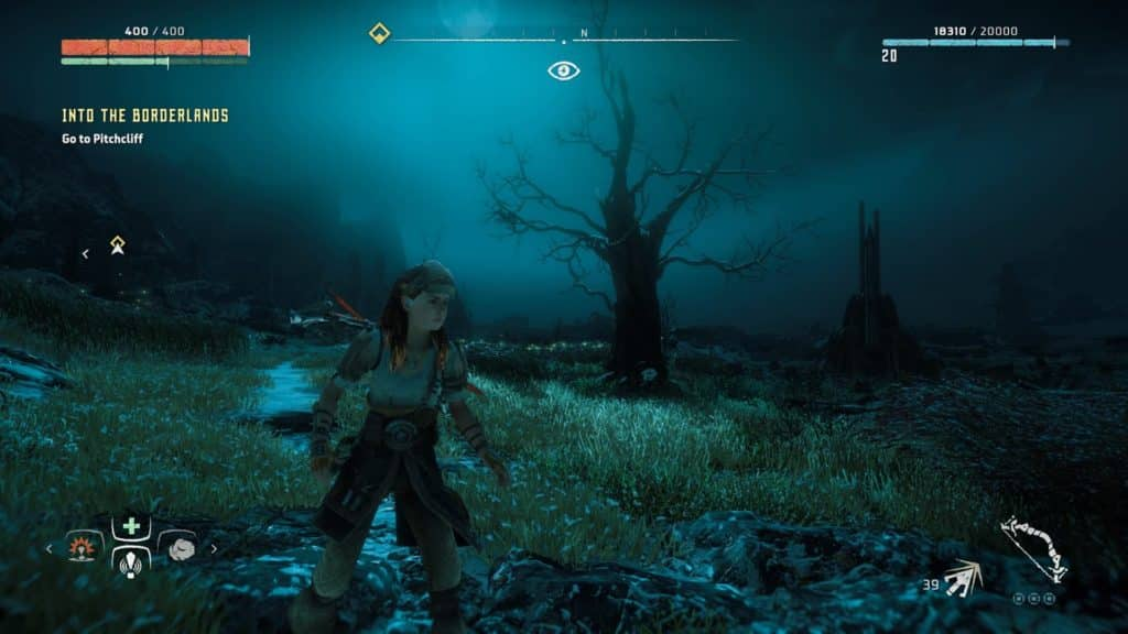 An eerie area in Horizon Zero Dawn - Horizon Zero Dawn Review