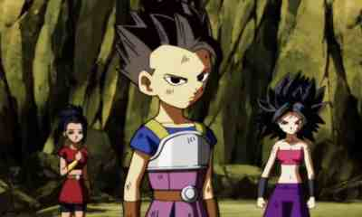 Cabba Caulifla and Kale in Dragon Ball Super