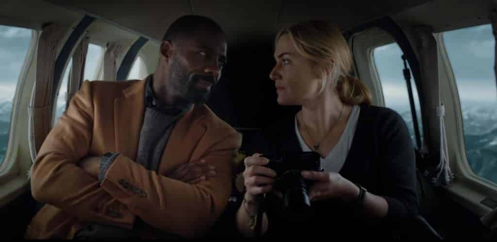 Idris Elba and Kate Winslet in The Mountain Between Us - The Mountain Between Us Review