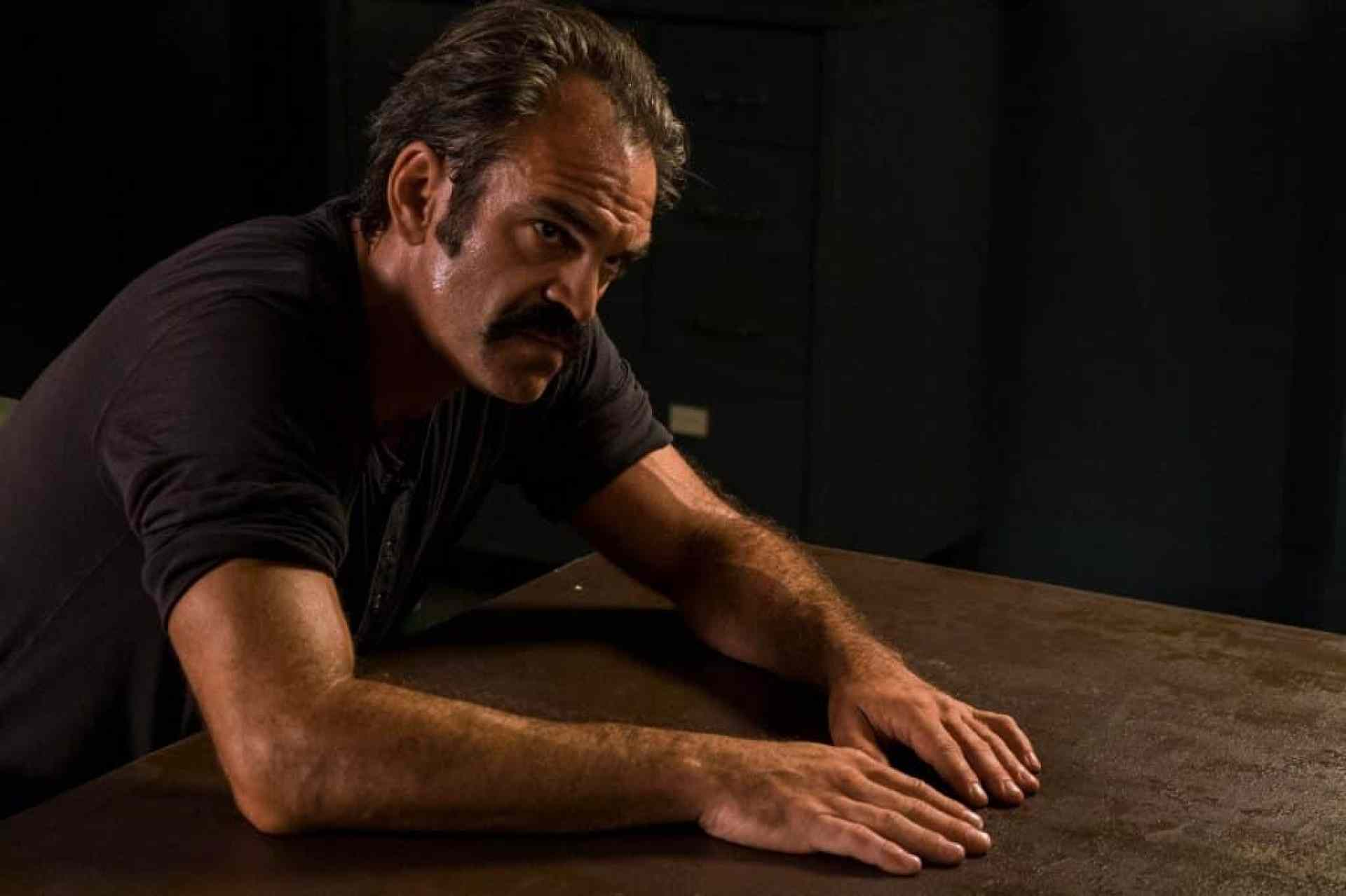 Simon is played by Steven Ogg in The Walking Dead
